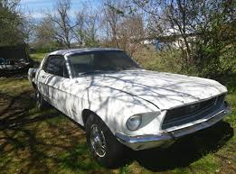mustang project cars for sale 1st 1968 ford mustang project car for sale