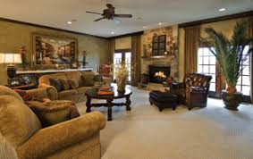 NewAnd Instantly Improved - Tuscan style family room
