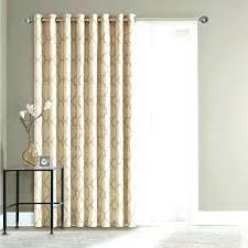 Curtains For Doors Thermal Patio Door Curtains Cost To Drywall Basement Sliding Panel