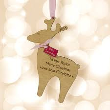 Reindeer Decoration Teacher U0027s Gift Xmas Reindeer Decoration By Neltempo