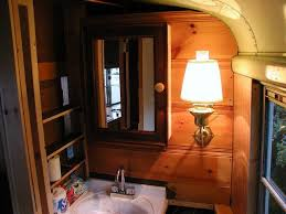 rv bathroom remodeling ideas to rv conversion from an yellow