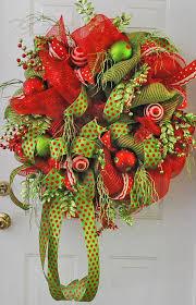 new deco mesh wreath ladybug wreaths by nancy