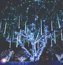 christmas lights that look like snow falling leds 10 uses in architecture holidays holiday decorating and