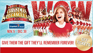radio city christmas spectacular tickets radio city christmas spectacular 2010 offer2