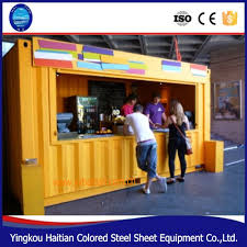 portable modern home solution finished container house kits prefab