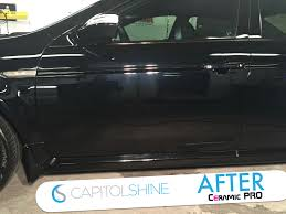 before u0026 after paint correction u0026 ceramic pro capitol shine blog