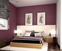 Fancy Bedrooms Modern Bedroom With Purple Color DS Furniture - Colors of bedrooms