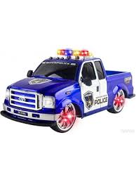 remote control police car with lights and siren toysery suv police car with lights and sirens bump and go super 3 aa