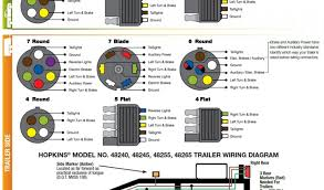 trailer lights wiring diagram 7 pin 7 pin trailer wiring color code