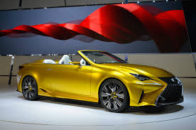 convertible lexus lexus lf c2 concept hits l a likely previews rc convertible