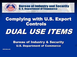 bureau of industry security ppt complying with u s export controls dual use items bureau of