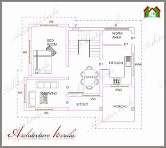 1000 Sq Ft Floor Plans 9 Small House Plans Under 1000 Sq Ft Kerala Square Feet Wonderful