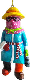 all things maybe not so mummers ornaments my new