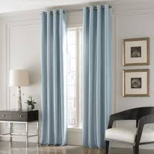 Blue And White Window Curtains Buy Blue Curtain Panels From Bed Bath U0026 Beyond
