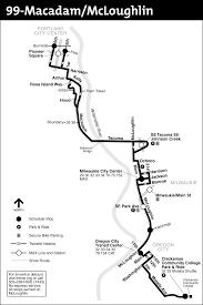 Route Map by 99 Macadam Mcloughlin