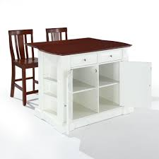 majestic crosley drop leaf kitchen islands with magnetic cabinet