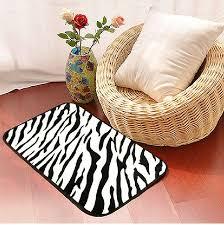 Zebra Print Bathroom Rugs 26 Best Zebra Print Area Rug Images On Pinterest Zebra Print
