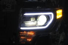 2012 ford f150 projector headlights install guide 2009 2014 f150 c style switchback bi xenon hid