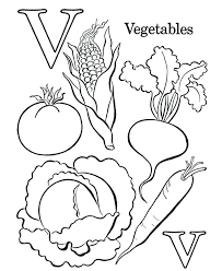 coloring pages with letter h letter v coloring page letter v coloring pages vegetables letter h