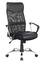 chaise de bureau pivotante sixbros chaise de bureau pivotante noir 139pm 1319 amazon fr