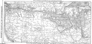 Map Of Milwaukee Milwaukee Road Coast Division America U0027s Resourceful Railroad