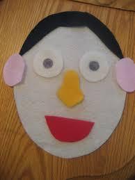 toddler approved felt faces
