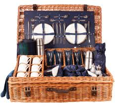 picnic basket set for 2 2 4 or 6 person luxury picnic the edwardian from amberley