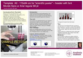 Sans Policy Templates by Ppt Template A0 119x84 Cm For Scientific Poster Header