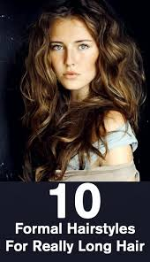 10 formal hairstyles for really long hair jpg