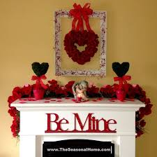 Fireplace Decorating Ideas 164 Best Valentine U0027s Day Decorating Images On Pinterest