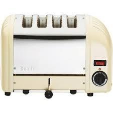 Dualit 4 Toaster Dualit 2 Slot Lite Toaster Gloss Cream