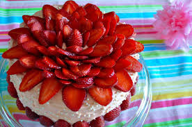 flower cake of everyday cooking