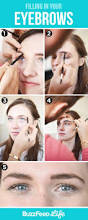 How To Shape Eyebrow How To Fill In Shape Tweeze Trim And Transform Your Eyebrows
