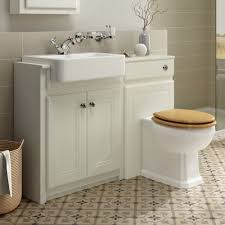 details about traditional bathroom vanity unit sink basin toilet