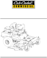 cub cadet lawn mower 44 48 54 user guide manualsonline com