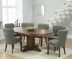 grey dining table set dining table circular extending dining table and chairs table