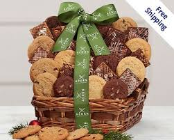 cookie gift baskets gourmet cookie gifts acorn bakery company at wine country gift
