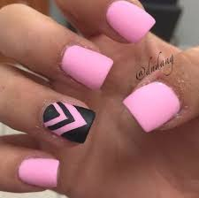 39 light pink and black nail designs nails in pics