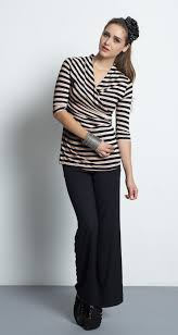 nursing top mothers en vogue faux wrap nursing top