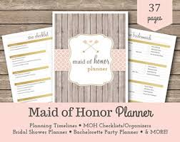 of honor planner of honor wedding planner book wedding organizer