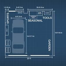 Garage Measurements Garage Storage And Organization Ideas