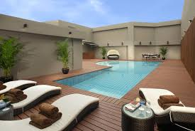 simple houses design with swimming pool minimalist a home is with