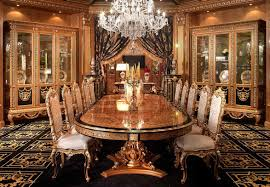 Luxury Dining Furniture Exquisite Boulle Marquetry Work - Luxury dining room furniture