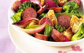 comment cuisiner des saucisses de toulouse recette poêlée de légumes et saucisses de toulouse 750g