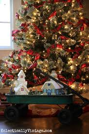 fun idea for themed christmas trees