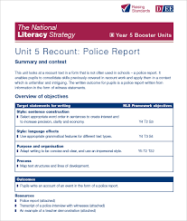 crime report template sample police report template word sample