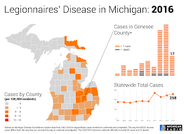 Flint Michigan Map Animation A Recent History Of Legionnaires U0027 Disease In Michigan