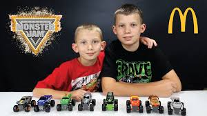 monster truck show schedule 2015 monster jam toy review mcdonald u0027s happy meal toys fall 2015 youtube