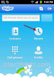 delete history on android phone delete call and chat history in skype for android how to