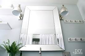 Beveled Bathroom Mirrors Beveled Bathroom Mirror Framed Beveled Bathroom Mirrors Beveled